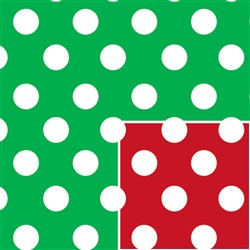 Christmas Polka Dot (Reversible)