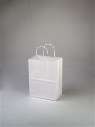 Cub White Shopping Bag