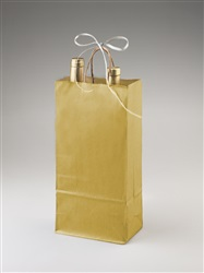 2 Bottle Gold Shopper