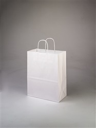 Debbie White Paper Shopping Bag