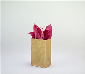 Rose Gold Paper Shopping Bag