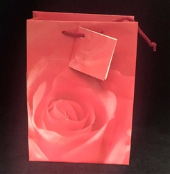 "4"" x 6"" Gift Bags Rose"