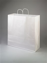 Jumbo White Paper Shopping Bag