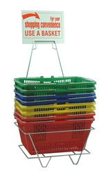 Self Service Basket with Rack
