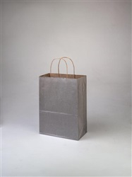 Cub Metallic Silver Shopping Bag