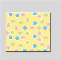 "24"" Baby Dots Gift Wrap Rolls"