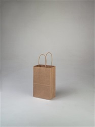 Rose Kraft Shopping Bag