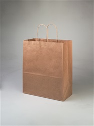 Escort Kraft Shopping Bag