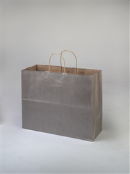 Vogue Metallic Silver Paper Bag