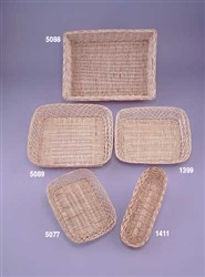 5 Bottle Willow Tray Basket