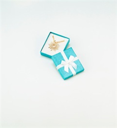NRY-6L Metallic Teal Blue Pendant