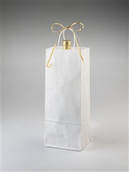 One Bottle White Shopper