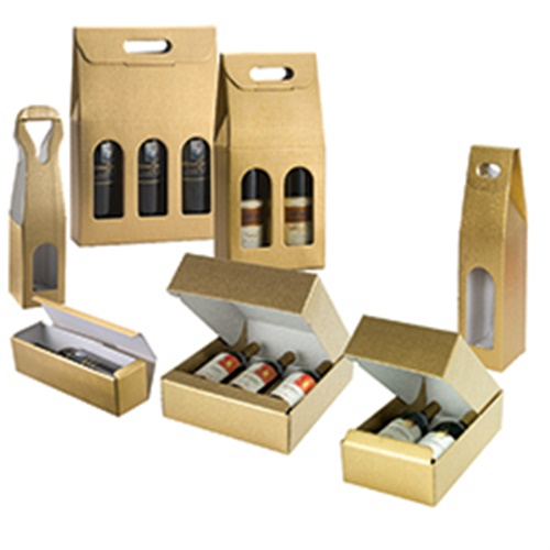 Italian Bottle Carriers & Boxes