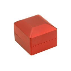 RC-01 LED Small Earring Red Leatherette Box