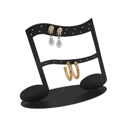 12 Pair Musical Note Earring Stand