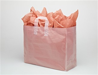 Frosted Clear Vogue Shopping Bags