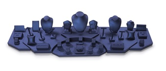 Set 6133 Navy Blue Leatherette (5 ft in length)