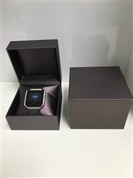 Purple Leatherette Watch Box