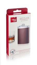 Hip Flask & Funnel - 8 oz Boxed