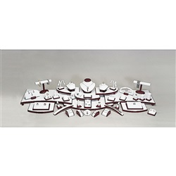 Set 42 Rosewood Trim