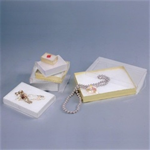 #53 View Top Gold Cotton Box