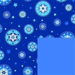 Starry Chanukah Reversible