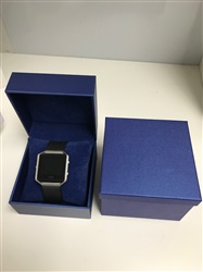 Navy Suede Watch Box