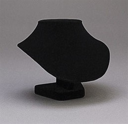 "4 3/4"" Black Velvet Display"