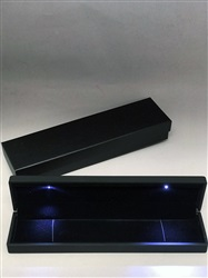 RC-09 LED Bracelet Black Leatherette Box
