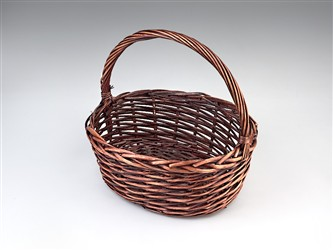 Round Basket w/ Handle
