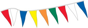 105' Pennant in Assorted Colors