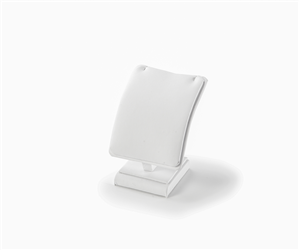 Pendant White Leatherette Stand