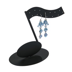 7 Pair Musical Note Earring Stand
