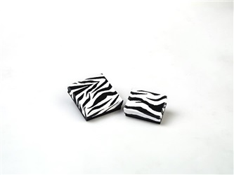 #32 Zebra Large Earring Set