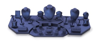 Set 6133 Navy Blue Leatherette (4 ft in length)